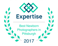laura mares photography awarded best Pittsburgh newborn photographer in 2016