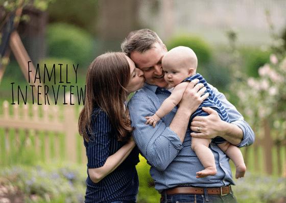 Family Spotlight – At Home Family Portraits