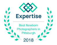 laura mares photography awarded best Pittsburgh newborn photographer in 2018