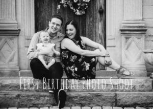 1st Birthday Spotlight – Baby Portraits