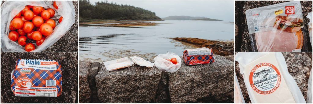 Picnic on the Isle of Mull. Photo by Laura Mares Photography, Pittsburgh Lifestyle Photographer