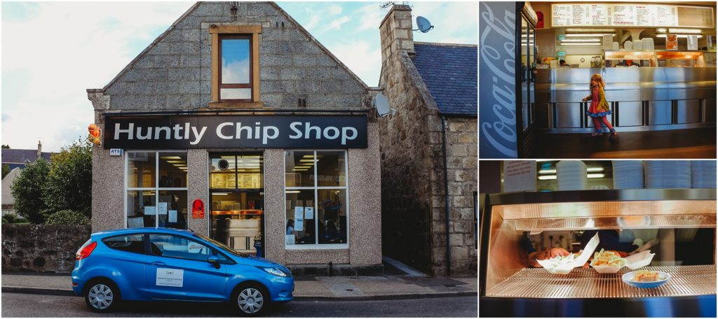 Huntly Chip Shop. Photo by Laura Mares Photography, Pittsburgh Lifestyle Photographer