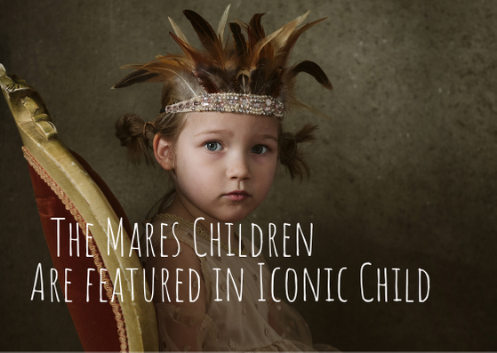 The Mares Children are Featured in Iconic Child Magazine