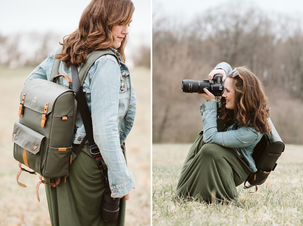 Portraits of Laura Mares Photography, Pittsburgh Lifestyle Photographer.