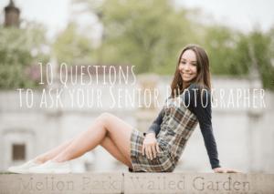 10 Questions to Ask Your Senior Portrait Photographer