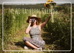 10 Fashion Trends to Incorporate in Your  Next Photoshoot