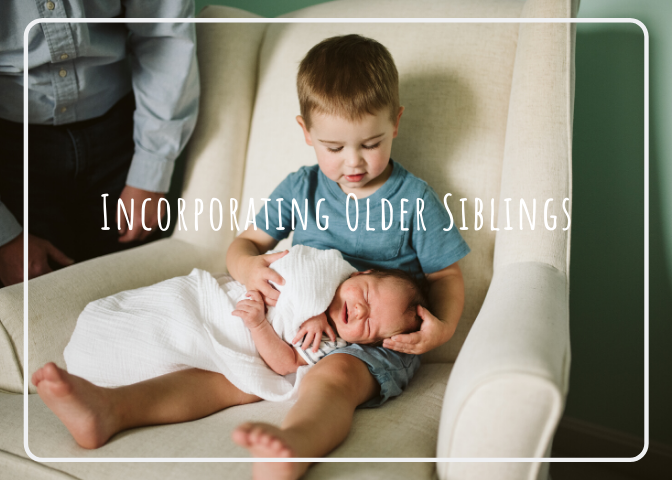 Incorporating Older Children in a Newborn Lifestyle Session – Pittsburgh Newborn Photographer