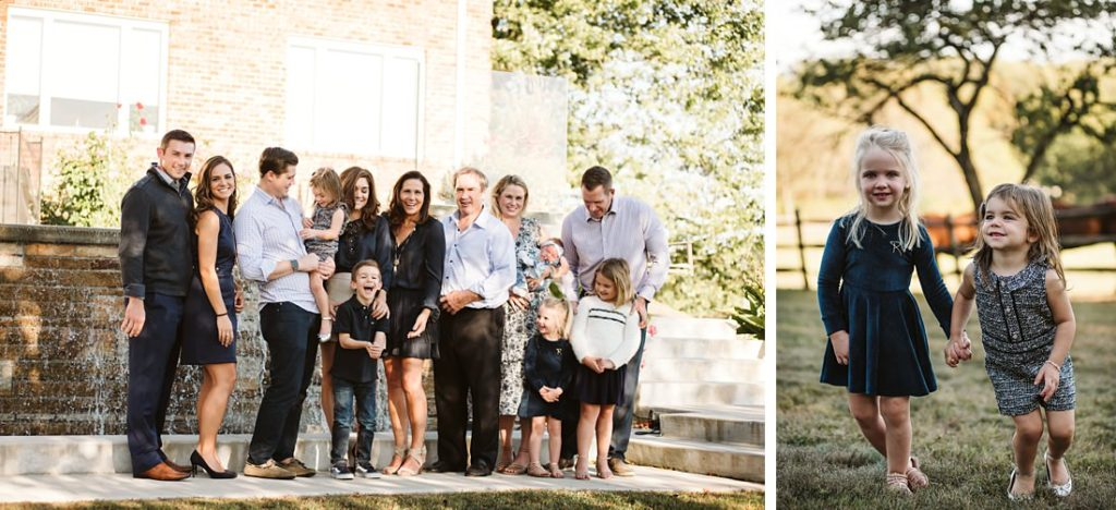 Portraits of a family. Photo by Laura Mares Photography, Pittsburgh Family Photographer.