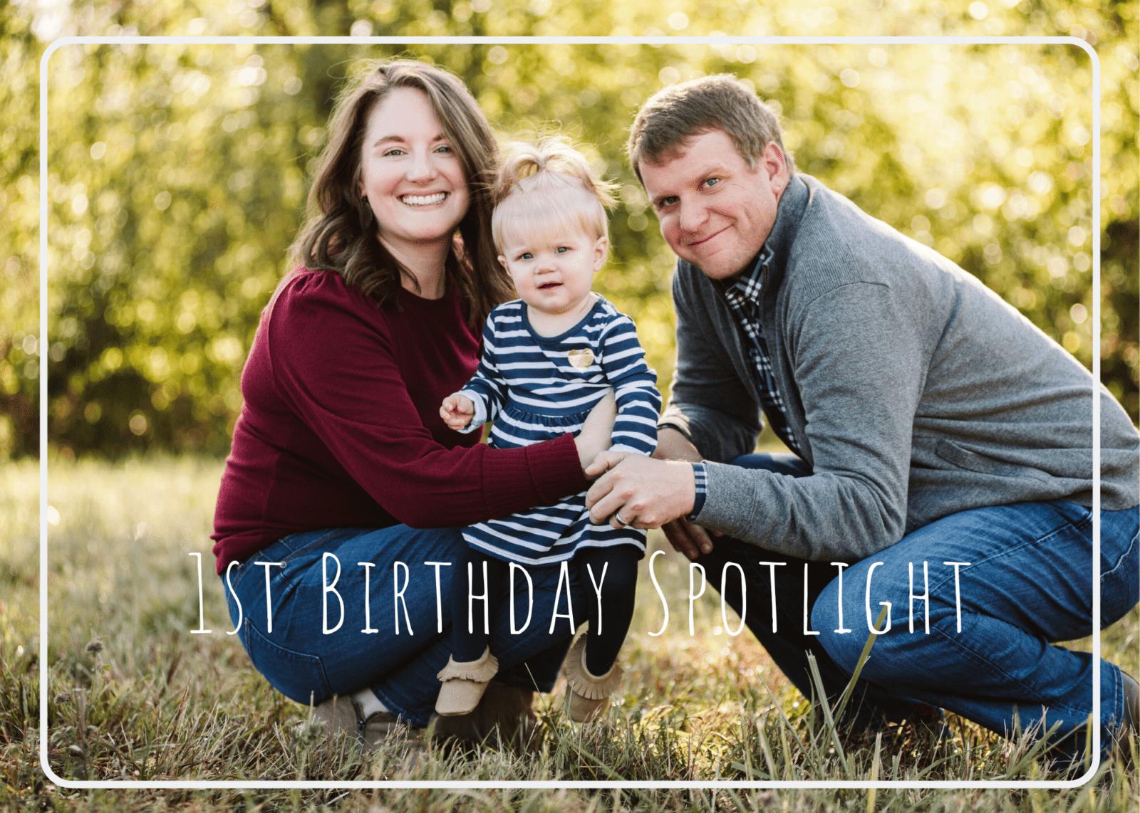 1st Birthday Spotlight – Pittsburgh Family Photographer