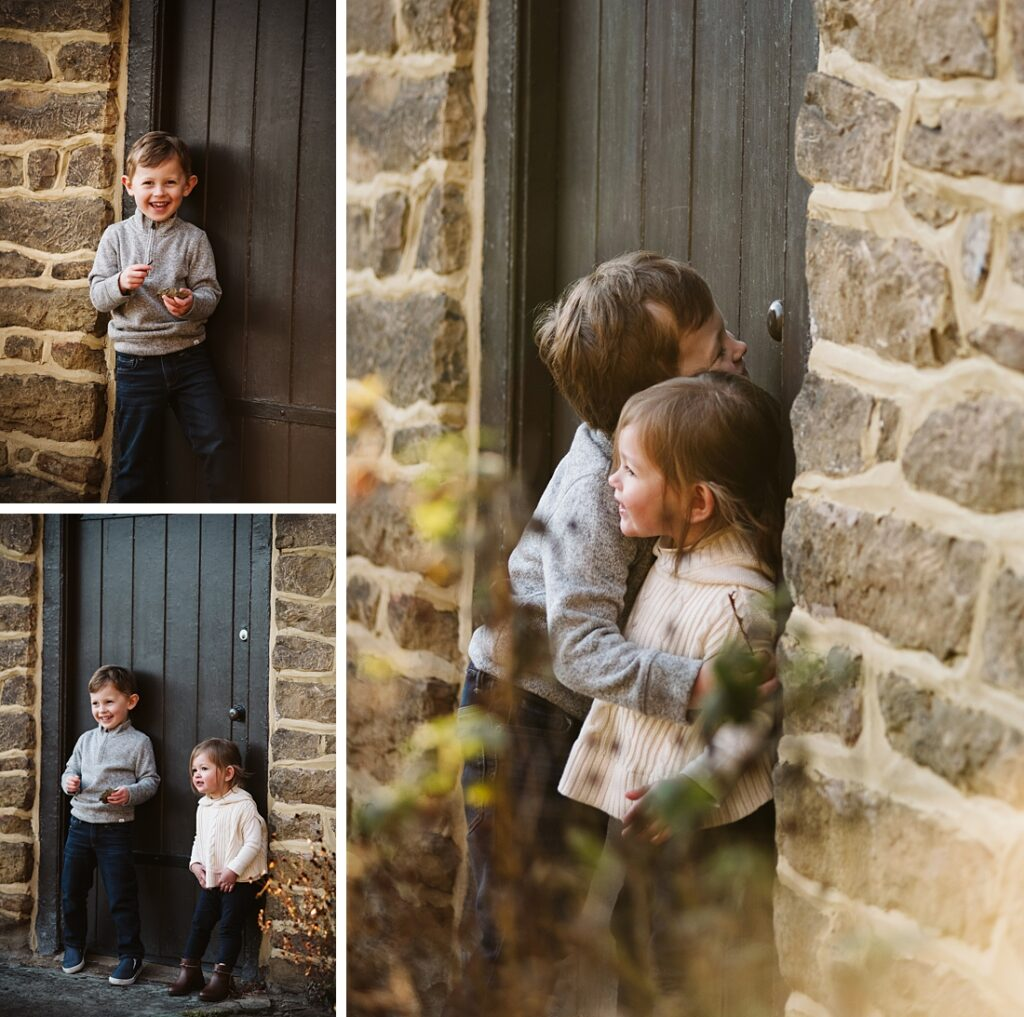 Outdoor child portraits. Photographs by Laura Mares Photography, Pittsburgh Family Photographer.