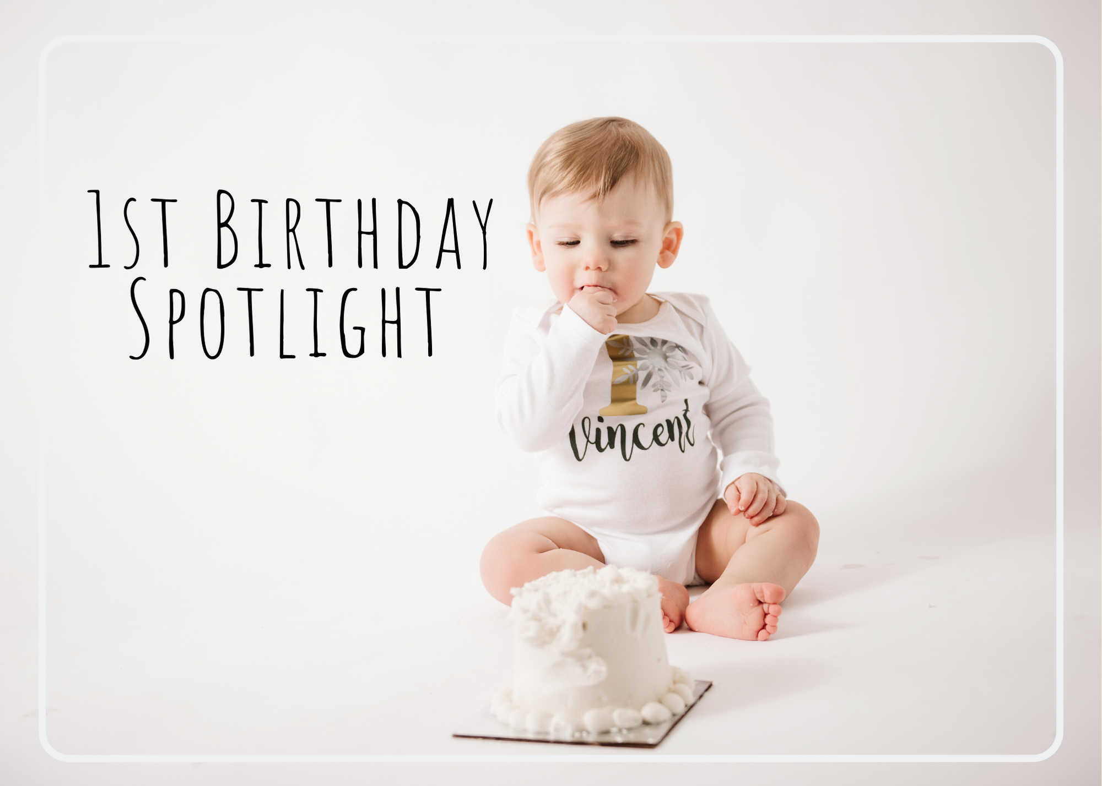 1st Birthday Spotlight – Pittsburgh Baby Photographer