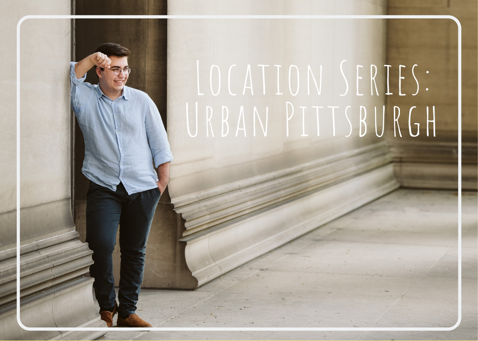 Senior Location Series: Urban Pittsburgh