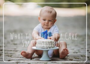 What to Expect during a Cake Smash Session