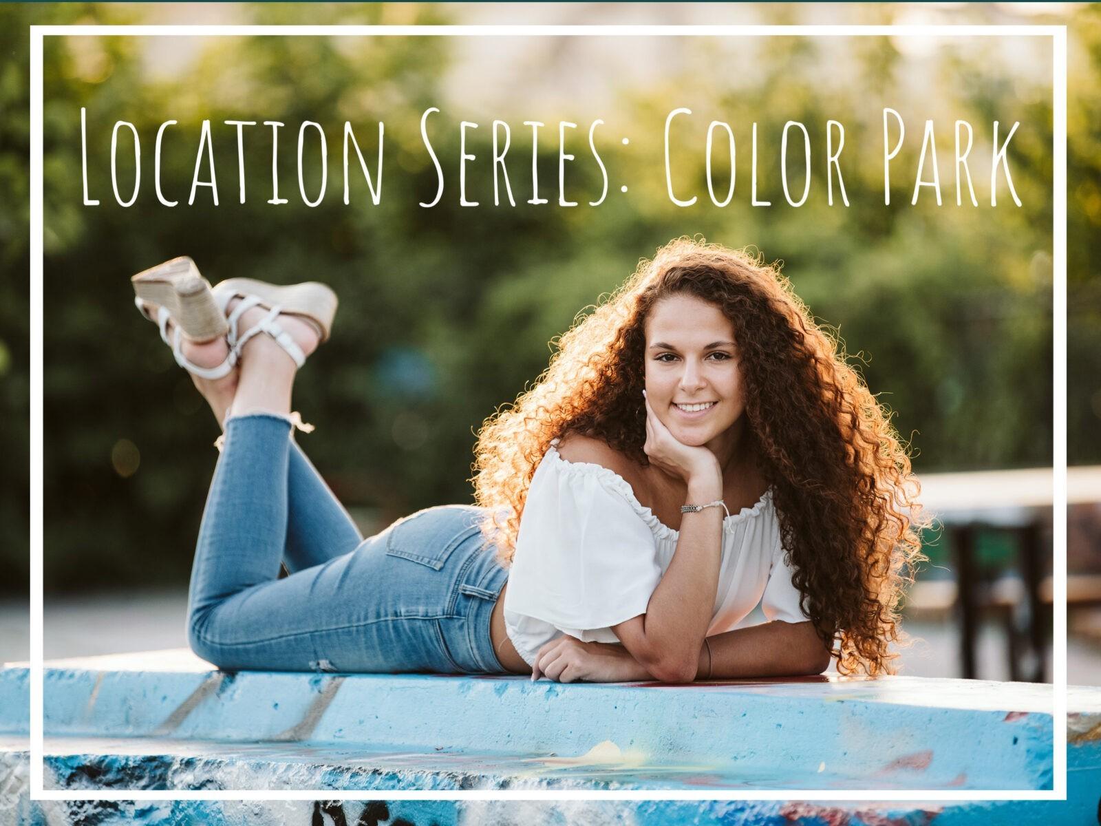 Senior Location Series: Color Park