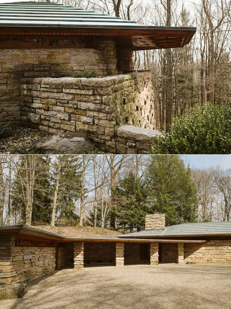 Pictures of Kentuck Knob in the Laurel Highlands near Pittsburgh