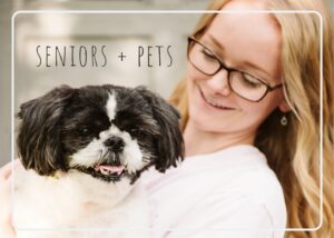 Read more about the article Including Your Pet During a Senior Session